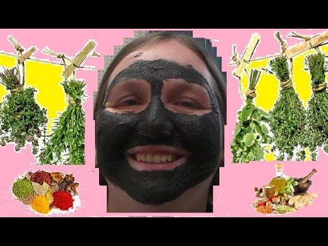 Face Mask DIY Herbal & Natural with recipe