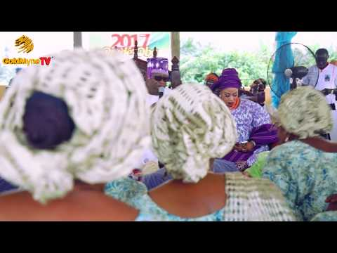 GLITZ AND GLAMOUR OF OJUDE OBA, AGO IWOYE 2017 (Nigerian Music & Entertainment)