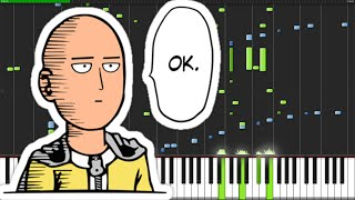 Main Theme - One Punch Man [Piano Duet]