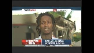 Interview of Dorian Johnson (with Mike Brown during shooting) on PoliticsNation Aug 12 2014 - YouTube