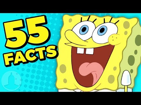 55 Fascinating Facts About Spongebob Squarepants (Tooned Up S6 Ep20)   Channel Frederator