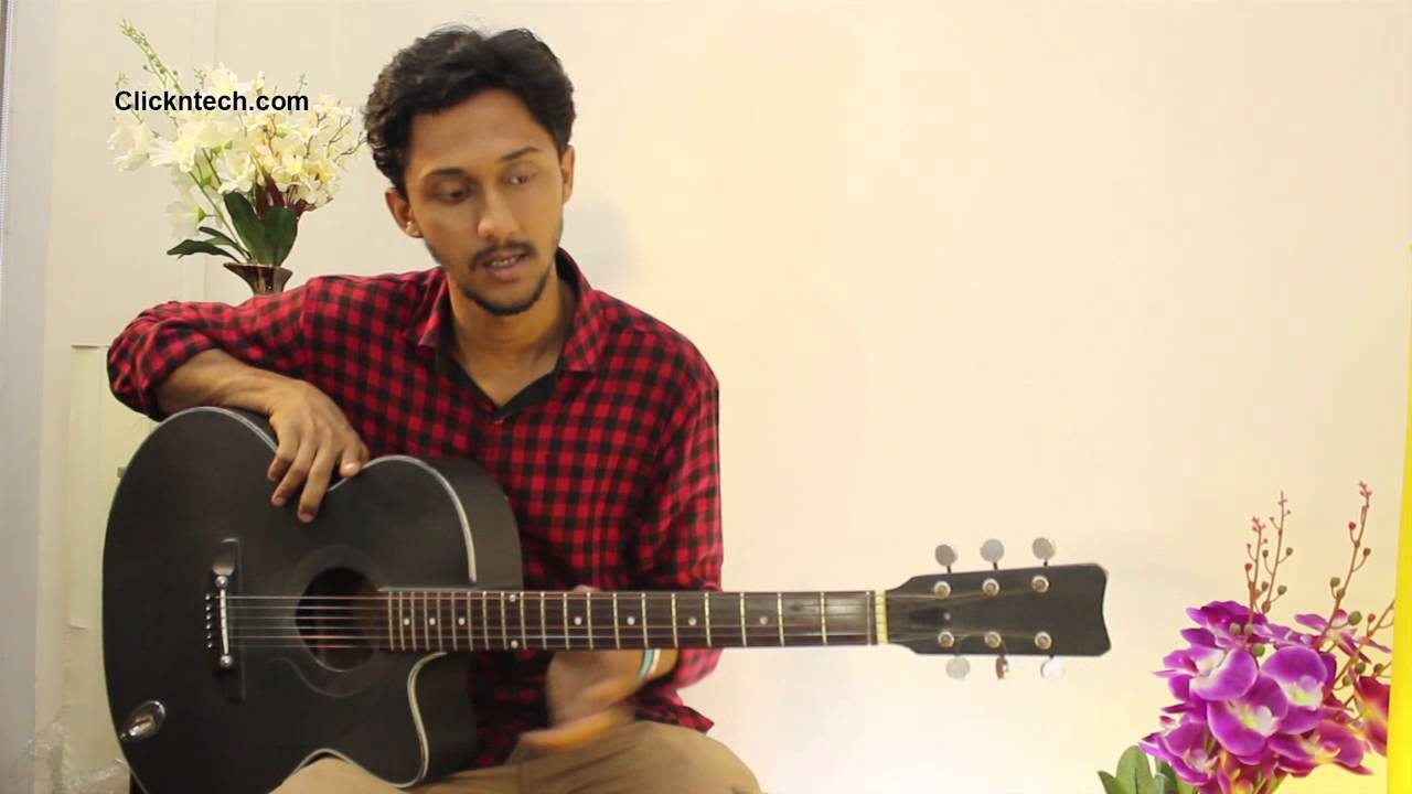 Bangla Guitar Lessons for Beginners #1 | How to Hold Guitar