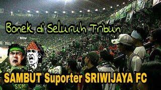 Video Big Respect..!! Seluruh Bonek di GBT Sambut Suporter Sriwijaya dengan Chant dan Nyanyian MP3, 3GP, MP4, WEBM, AVI, FLV April 2018