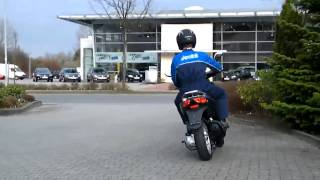7. Probefahrt Aprilia Sport City 50 one 4T 2010 Roller