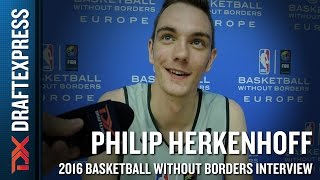 Philipp Herkenoff Interview from NBA Basketball Without Borders Europe Camp