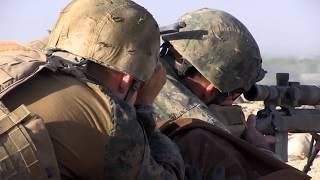 ONE SHOT ONE KILL Marine Scout Sniper kills a Taliban sniper