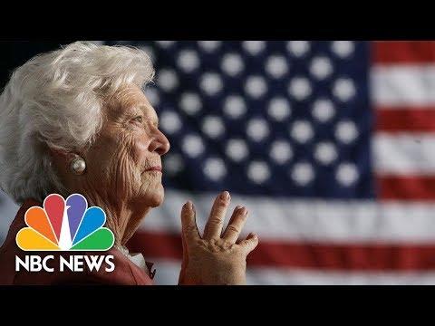 Former First Lady Barbara Bush Dead At 92 | NBC News