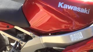 7. 2007 Kawasaki Ninja 600 ZZR