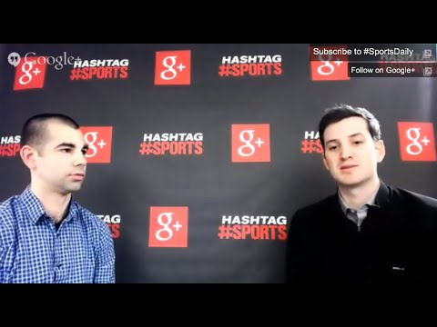 Join Hashtag Sports for a special Google+ Hangout at SXSW