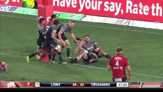 Lions v Crusaders Rd.6 2016 | Super Rugby Video Highlights
