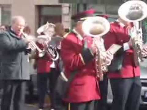 Buttevant - playing St. Patrick's Day 2013 in Buttevant Parade.