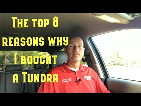 The top 8 reasons why I bought a Tundra with Gary Pollard The Fist Pump Guy Enterprise Al