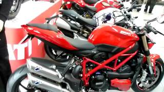 5. Ducati Streetfighter 848 132 Hp 2012 * see also Playlist