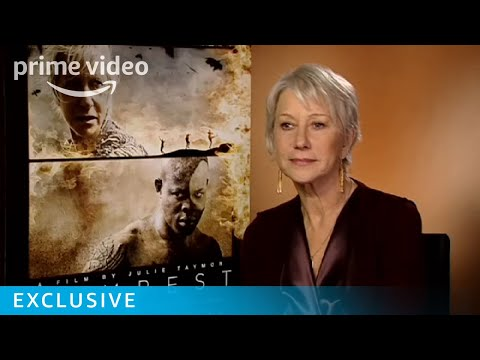 Dame Helen Mirren On Shakespeare's The Tempest & Russell Brand | Prime Video