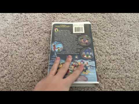 Mickeys Once Upon A Christmas VHS Review