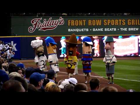 Milwaukee Brewers Sausage Race