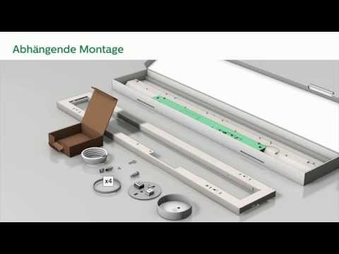 Philips CoreLine LED Anbauleuchte - Montage/Installation
