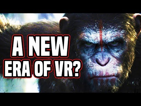 A NEW ERA OF VR?! NEW GAME IS AWESOME! Crisis of the Planet of the Apes VR Gameplay