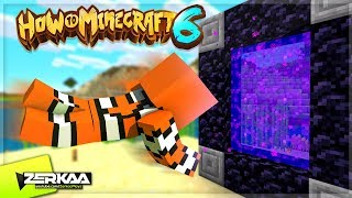 Video VISITING The How To Minecraft NETHER World! (How To Minecraft S6 #8) MP3, 3GP, MP4, WEBM, AVI, FLV Agustus 2019