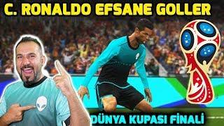 DÜNYA KUPASI FİNALİ EFSANE C. RONALDO GOLLERİ! | ALIENWARE FC FİNAL MAÇI