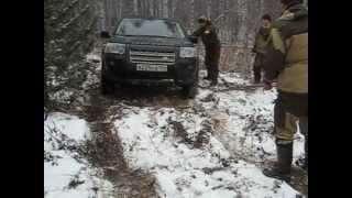 Freelander 2в лесу