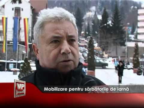 Mobilizare pentru sărbătorile de iarnă
