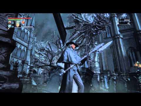 Bloodborne, если озарение (Insight) на 40