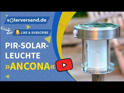 Esotec PIR-Solarleuchte Ancona