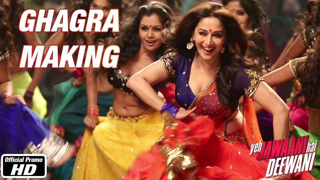 ghagra making - yeh jawaani hai deewani (2013) - filmicafe