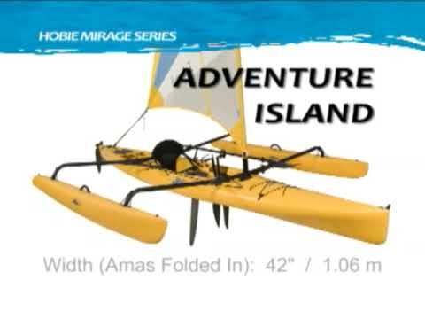 Hobie Mirage Adventure Island Kayak Overview