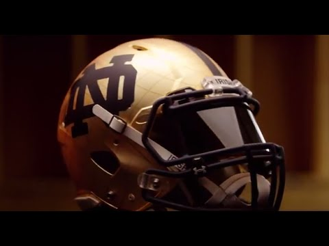 notre - GOD, COUNTRY, NOTRE DAME. The Irish's official 2014 Shamrock uniform from Under Armour is here.