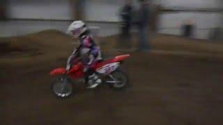 7. Jordan Rides Her Honda CRF 70 at RAM JAM MX Pratice Track Feb 20th #5