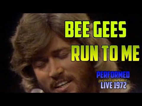 BEE GEES Run To Me - LIVE performance 1972 - Excellent quality - UPSCALE 1080p