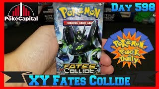 Pokemon Pack Daily XY Fates Collide Booster Opening Day 598 - Featuring ThePokeCapital by ThePokeCapital