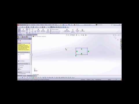 SolidWorks 2012 Einstieg ins Zeichnen deutsch HD