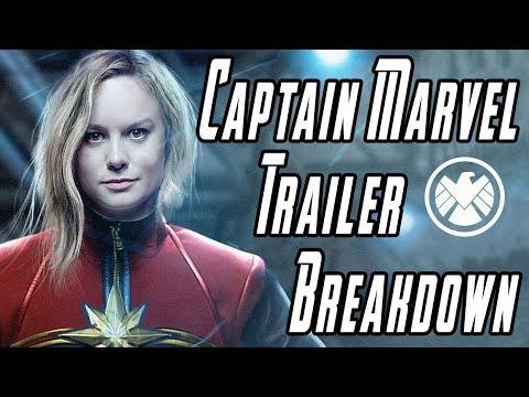 Captain Marvel Trailer Breakdown + Details You Missed!