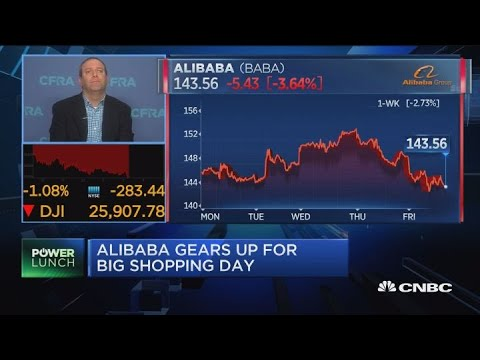 Alibaba's huge 'Singles Day' has small effect on stock, says Scott Kessler