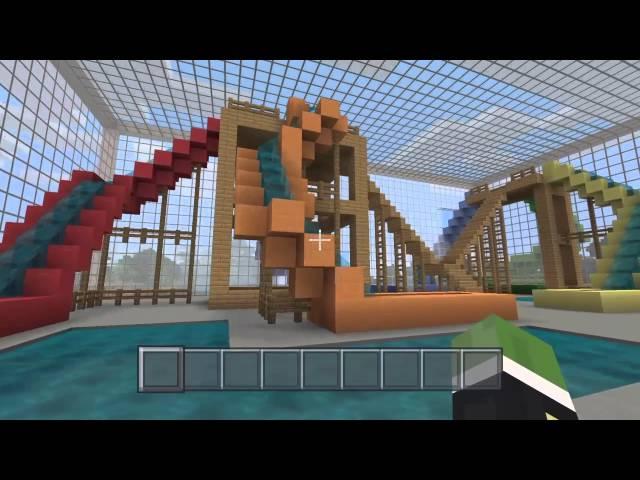 Water Park Map Minecraft