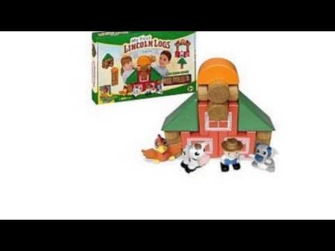Video YouTube video ad of the My First Lincoln Logs Farm