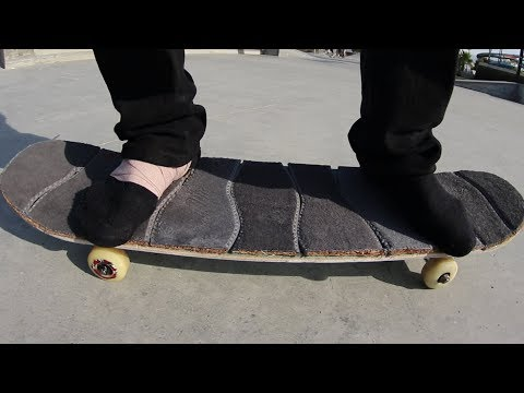 SHOE INSOLES GRIP TAPE! | YOU MAKE IT WE SKATE IT EP 165