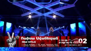 Sona & Raisa Avanesyan - Stay by Simon Glikman -- The Voice of Armenia - Final - Season 3