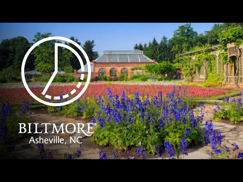 Beautiful Time Lapse Video Of The Gardens at Biltmore