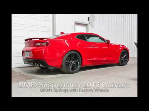BMR Suspension New Product Video Lowering Springs for 2016 Camaro SP041