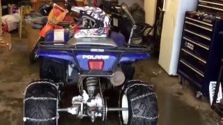 6. 2003 Polaris Trail Boss 330