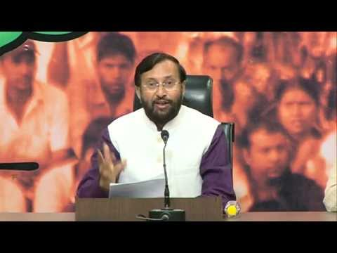 We demand Congress must apologize for targeting PM Modi for 13yrs: P Javadekar on Sanjiv Bhatt Case