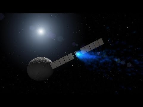 NASAs Dawn Mission Nears the End_Best spacecraft videos of the week