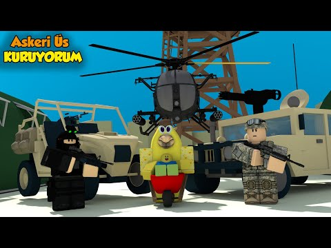 ⚔️ Askeri Üs Kuruyoruz! ⚔️ | Military Combat Tycoon | Roblox Türkçe