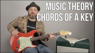 Video The Most Important Piece of Music Theory - Chords of a Key MP3, 3GP, MP4, WEBM, AVI, FLV Agustus 2018