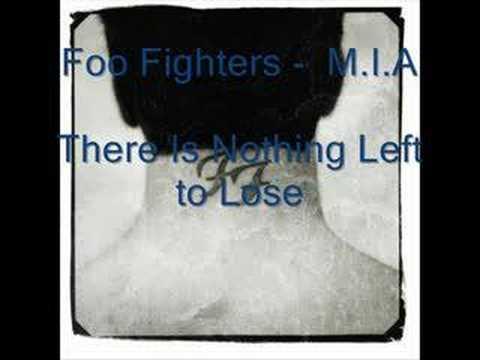Tekst piosenki Foo Fighters - M.I.A. po polsku