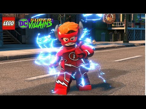 LEGO DC Super Villains Wally West (The Flash) Unlock + Free Roam Gameplay